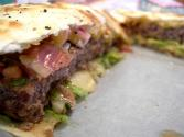 Stuffed Bacon Busha Burgers
