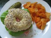 Garlic And Herb Bagel Chips