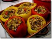 No-bake Stuffed Peppers