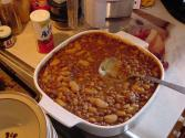 Family Baked Bean Dinner