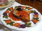 Baked Eggplant And Tomatoes
