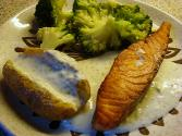 Baked Fish In Cream Sauce