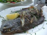 Baked Whole Flounder