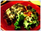 Baked Halibut With Herb Sauce