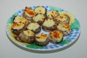 Baked Mushrooms And Cheese