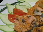 Baked Salmon With Fennel