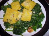 Baked Spinach With Chives