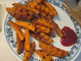 Orange Baked Sweet Potato & Parsnips