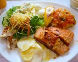 Banana Salmon Salad