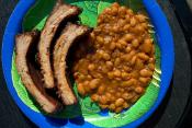Baked Beans In Brewmaster's Barbecue Sauce
