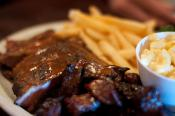 Barbecued Brisket And Burnt Ends 