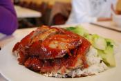 Marinated Barbecued Duck