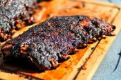 Barbecued Loin Backs