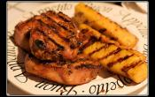 Barbecued Pork Chops With Brown Sugar