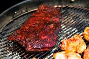 Catsup Hoisin Marinade For Barbecued Spareribs