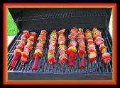 Bbq Chicken Shish Kebab