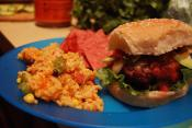 Bean And Rice Burgers