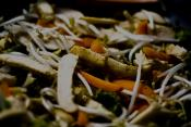 Bean Sprout And Carrot Stir Fry