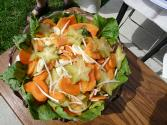 Celery-bean Sprout Salad