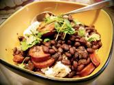 Beans With Buttered Rice