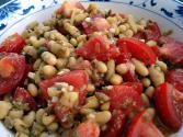Beans With Garlic & Tomato