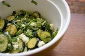Bean Zucchini Salad
