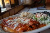 Beef &amp; Bean Enchiladas