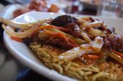 Beef Chow Mein With Bean Sprouts