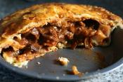 Beef And Parsnip Pie
