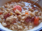 Beef Soup With Spaetzle