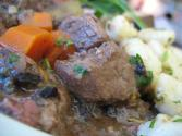 Beef Stew With Wine And Herbs