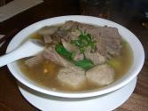 Beef-vegetable Noodle Soup