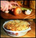 Beef And Wine Potato Pie
