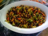 Black Bean Corn & Pepper Salad