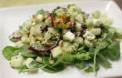 Zesty Black Eyed Pea Salad