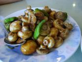 Mushroom With Black Pepper