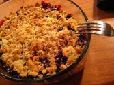 Blackcurrant Crumble