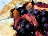 Blueberry Peach Tarts