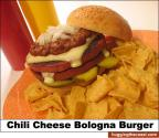 Barbecued Bologna Roll