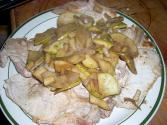 Braised Pork With Apples