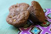 Multi Bran Blueberry Muffins