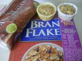 Apple-filled Bran Muffins