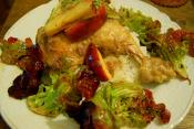 Chicken With Brandy Baste