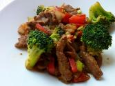 Broccoli & Beef Stir Fry
