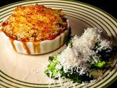 Broccoli Casserole With Crumb Topping