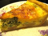 Crusty Broccoli Quiche