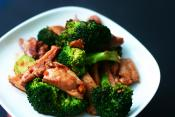 Broccoli & Red Pepper Saute