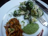 Broccoli With Lemon Cream Sauce