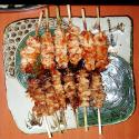 Broiled Chicken On Skewers