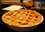 Apple-butter Single-crust Pie